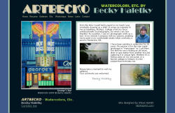 ArtBecko.com screenshot