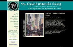 New England Watercolor Society screenshot