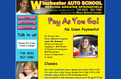 Winchester Auto School screenshot