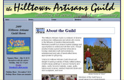 Hilltown Artisans Guild screenshot