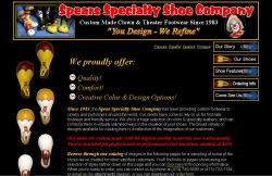 Spear Specialty Shoes screenshot