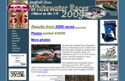 Westfield River Whitewater Races screenshot